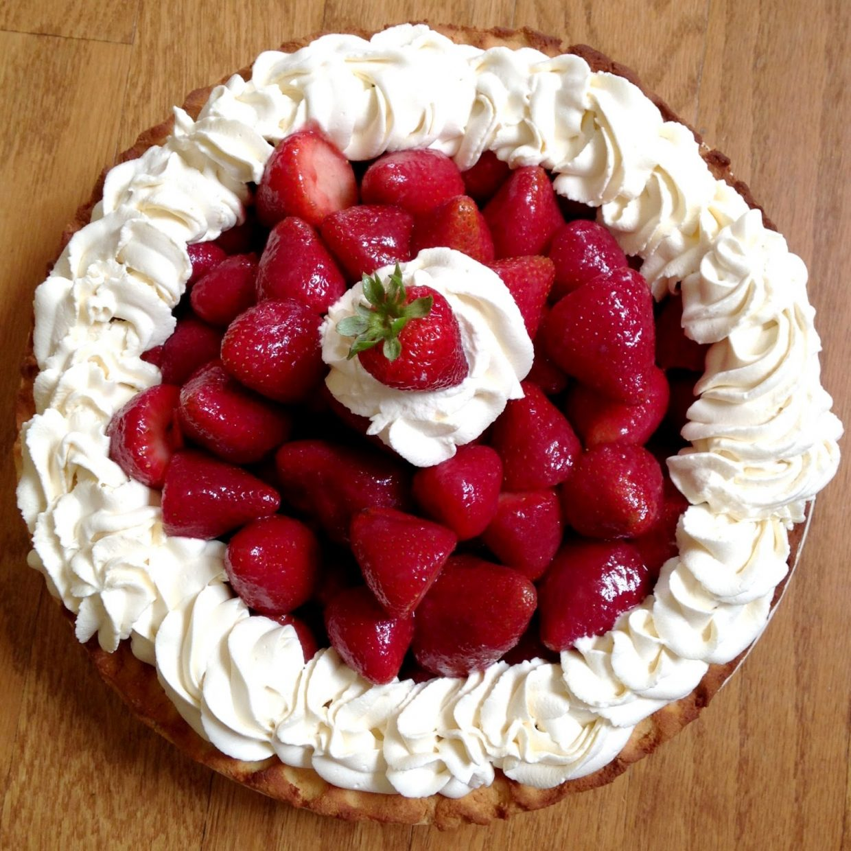 "Did Somebody Say, ""Strawberry Pie."""