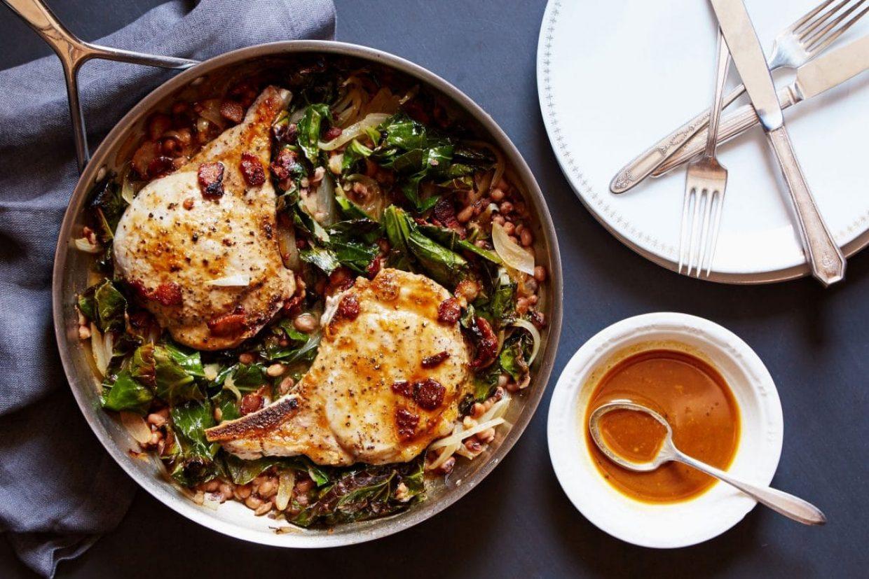 Pork Chops Family Meal