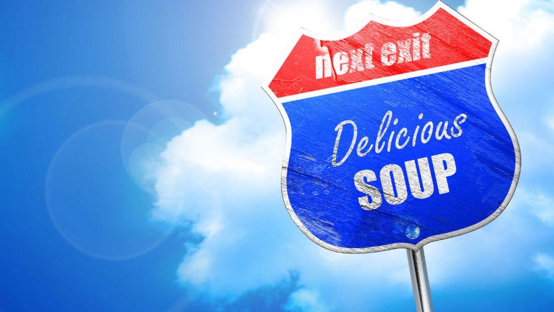Brrrrrrrr! We have delicious soups at the Market.