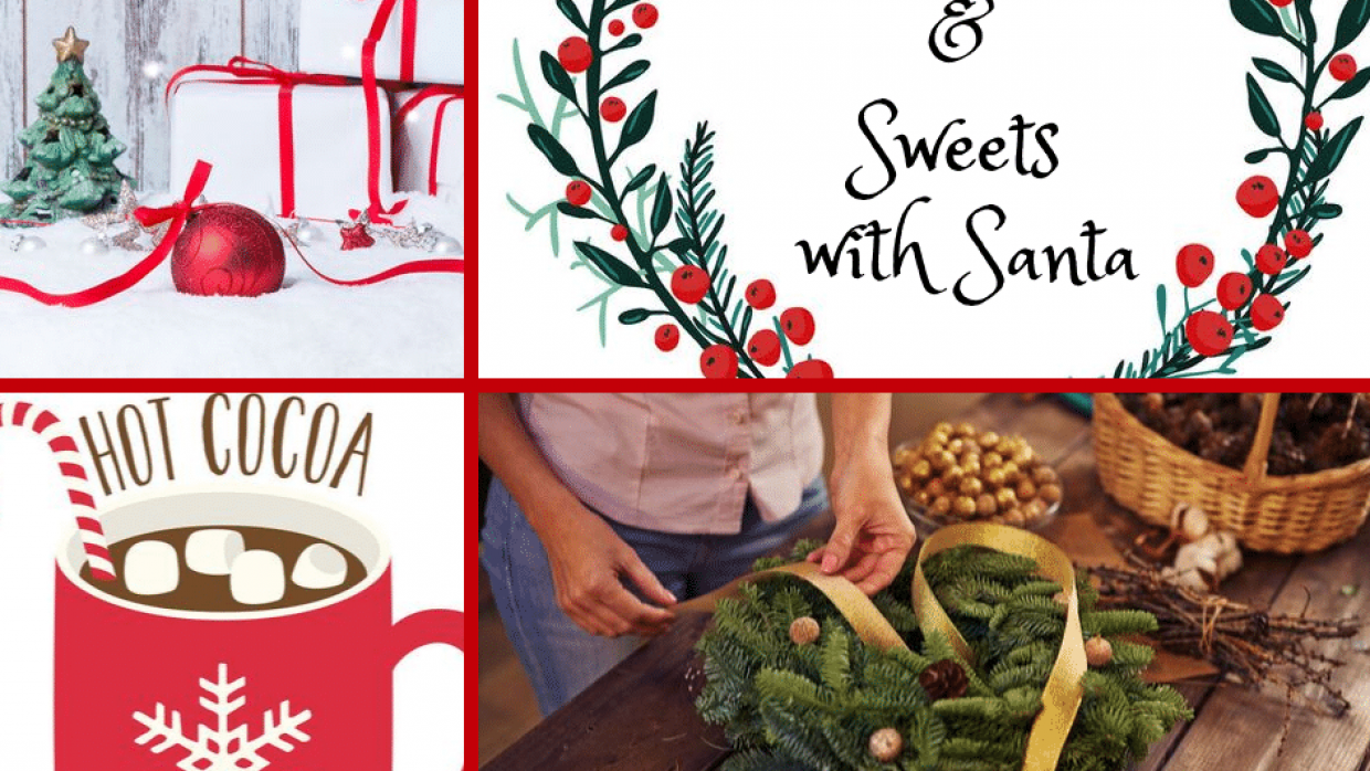 Wreaths & Sweets with Santa 2019