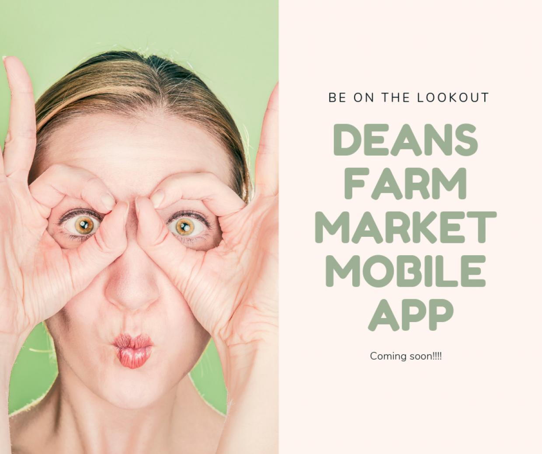 Deans Farm Market Mobile App