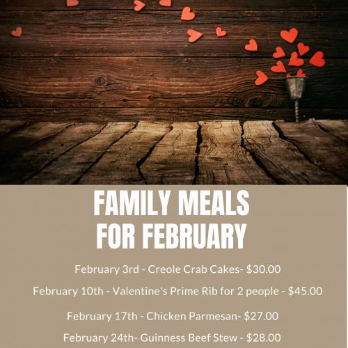 February Meals
