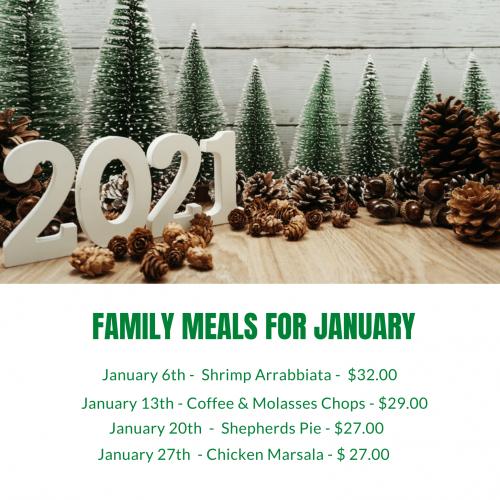January Meals